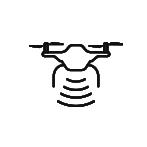 drone icon range